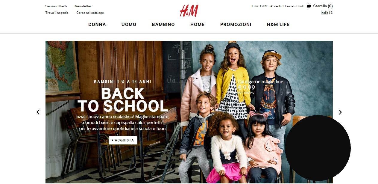 H&M bambini