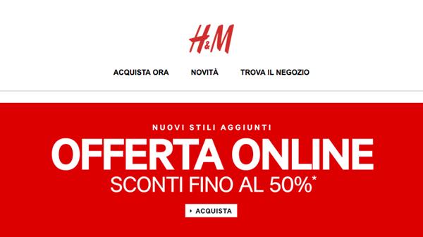 H&M commenti