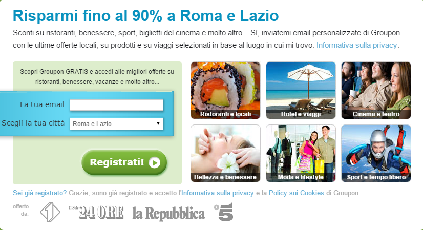 Groupon commenti 2015
