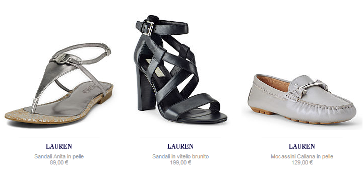 Ralph Lauren scarpe
