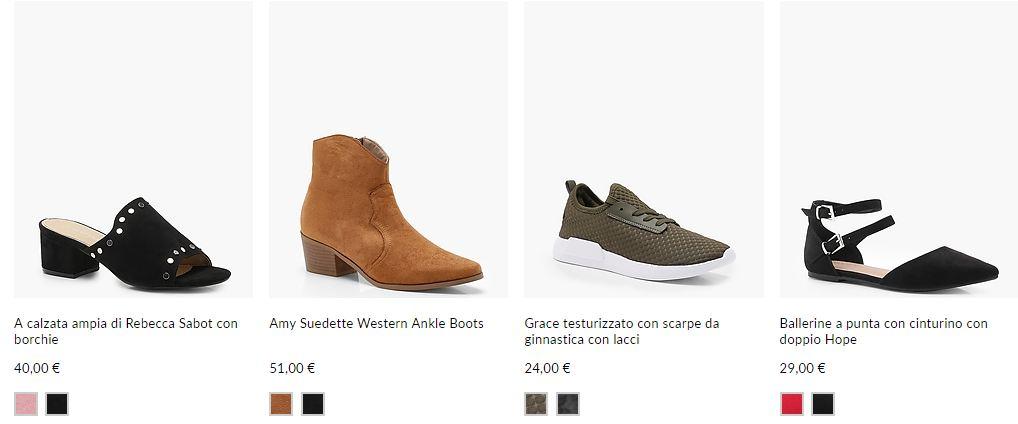 boohoo scarpe