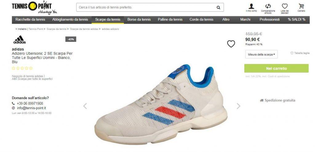 tennis point scarpe