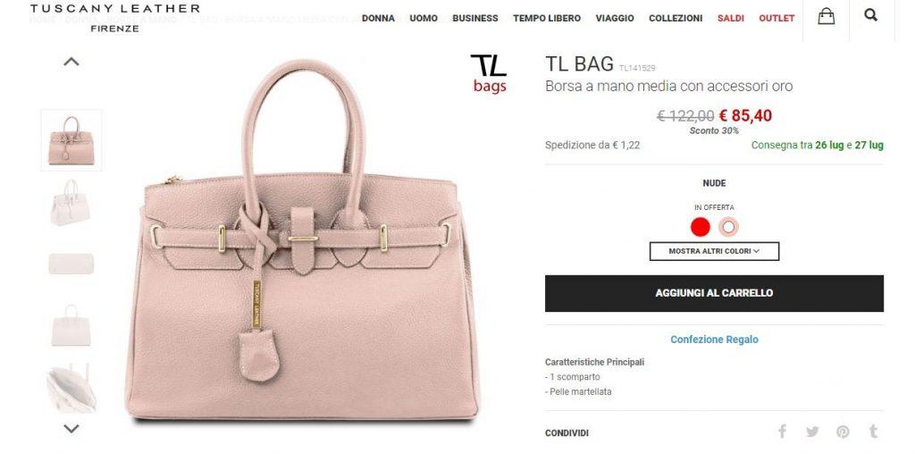 tuscany leather borse
