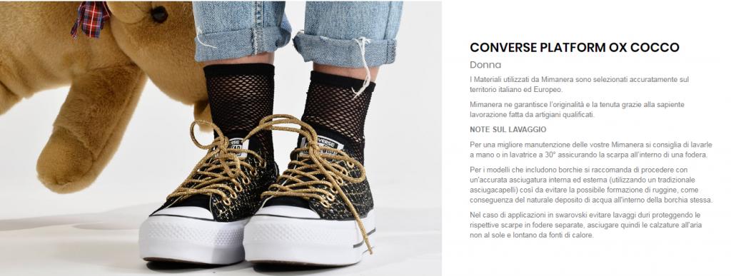 mimanera scarpe personalizzate