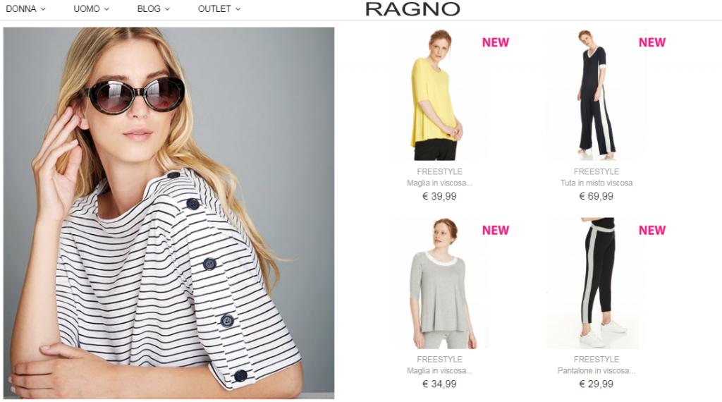 wholesale dealer 5574d 08200 Ragno Opinioni 2019 abbigliamento intimo, maglieria e recensioni