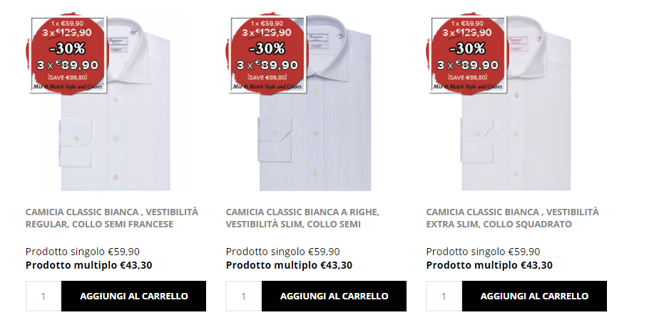 camicissima outlet